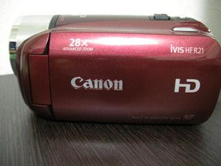 Canon iVIS HF R21 復旧