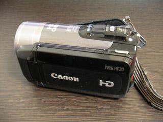 Canon iVIS HF20 データ復旧 E・M様