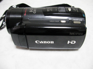 ビデオカメラ データ復旧 Canon iVIS HF M32 神奈川県横浜市のお客様
