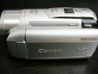 ビデオカメラ データ救出 Canon iVIS HF M32 神奈川県横浜市のお客様