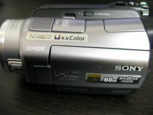 ハンディカム データ救出 SONY HDR-SR7 宮崎県宮崎市のお客様