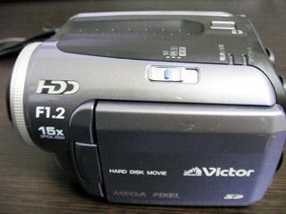 ビデオカメラ データ救出 Victor Everio GZ-MG40-A 東京都小平市のお客様