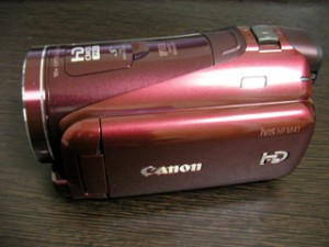 Canon iVIS HF M41 データ復旧