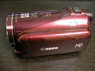 Canon iVIS HF M41 データ復旧 福岡県福岡市