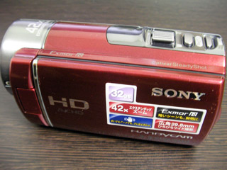 SONY HDR-CX180 データ復旧 愛知県豊田市