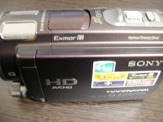 ハンディカム データ救出 SONY HDR-CX560V 茨城県小美玉市のお客様