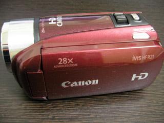 Canon iVIS HFR21 データ救出 東京都練馬区