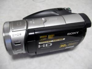 ビデオカメラ データ復旧 ソニー HDR-SR7 東京都小金井市のお客様