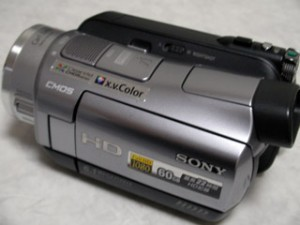 ビデオカメラ データ復旧 ソニー HDR-SR1 愛知県北名古屋市のお客様