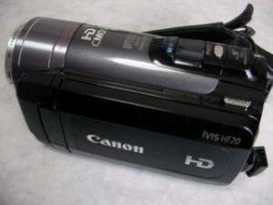ビデオカメラ データ復旧 Canon iVIS HF20 大阪市淀川区のお客様