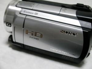 ハンディカム データ復旧 ソニー ビデオカメラ HDR-XR500V 茨城県日立市のお客様