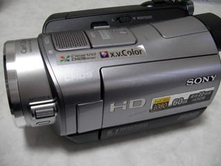 ハンディカム データ復旧 SONY HDR-SR7 大阪府松原市のお客様