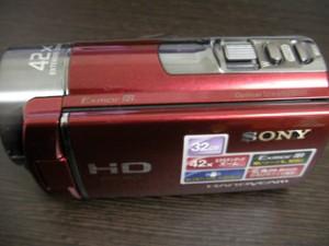 ハンディカム データ復旧 SONY HDR-CX180 東京都東村山市のお客様
