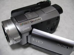 ハンディカム データ復旧 SONY HDR-SR8 東京都杉並区