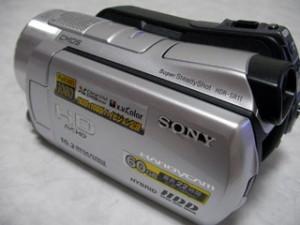 ハンディカム データ復旧 SONY HDR-SR11 東京都世田谷区