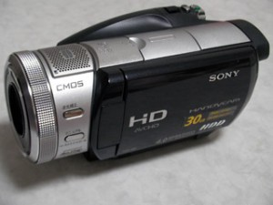 ハンディカム データ復旧 SONY HDR-SR1 東京都品川区