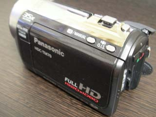 ビデオカメラ データ復旧 Panasonic HDC-TM70 東京都足立区