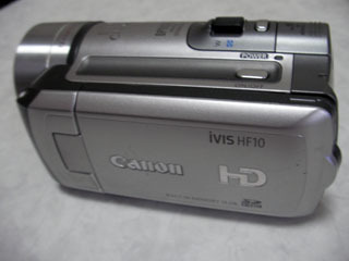 ハンディカム データ復旧 Canon iVIS HF10 神奈川県横浜市のお客様