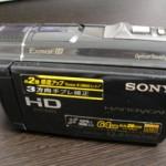 SONY HDR-CX520V デジタルビデオカメラ データ救出 千葉県千葉市