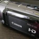 Canon iVIS HF S10 デジタルビデオカメラ データ救出 三重県桑名市