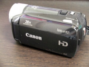 Canon iVIS HF R21 ビデオカメラ データ救出 千葉県市川市