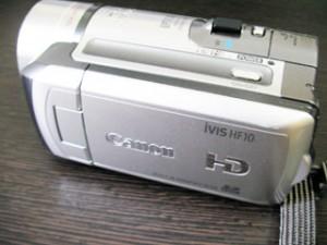 Canon iVIS HF10 データ復旧 ハンディカム 埼玉県川口市