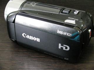 Canon iVIS HF R21 データ復旧 ビデオカメラ 千葉県市川市