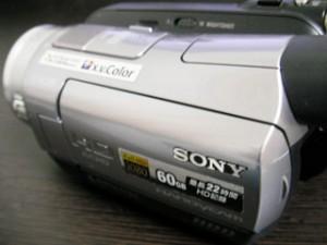 HDR-SR7 SONY ハンディカムデータ救出 岐阜県各務原市