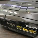 HDR-SR8 SONY ビデオカメラデータ救出 愛知県豊橋市