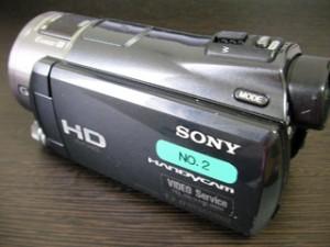 HDR-CX550V SONYハンディカム データ復旧 東京都港区のお客様