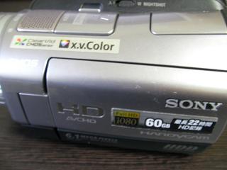データー復旧 HDR-SR7 SONYデジタルビデオカメラ 山形県米沢市