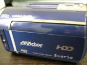 GZ-MG330-A ビクター ビデオカメラ HDDエラー 栃木県宇都宮市