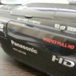 HDC-HS100 パナソニック ビデオカメラをフォーマットした 三重県三重郡