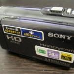 HDR-CX170 ソニーハンディカム 誤って動画を削除 京都府城陽市
