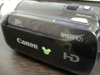 HF R21 iVIS キヤノン ビデオカメラ データ復旧 千葉県我孫子市