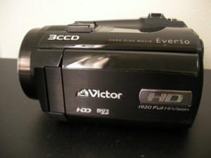 GZ-HD5-B ビクター エブリオ ビデオカメラ 誤ってデータを消した 千葉県松戸市