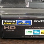 HDR-XR150 SONY ビデオカメラ フォーマットエラーと表示される 山口県長門市