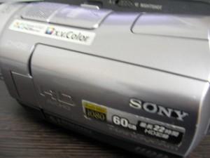データ救出 HDR-SR7 SONYビデオカメラ