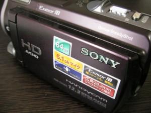 HDR-CX560V ソニー ビデオカメラのデータ復元 栃木県宇都宮市