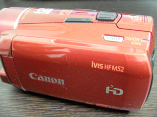 Canon iVIS HF M52 のデータ復元