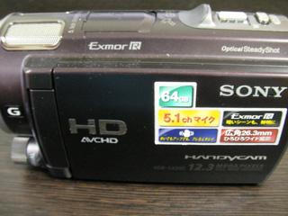 HDR-CX560V SONY ビデオカメラのデータ復旧