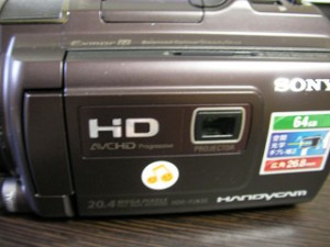 HDR-PJ630V ソニー ビデオカメラのデータ復旧