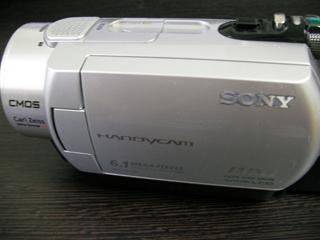 DCR-SR300 ソニー ビデオカメラのデータ復旧