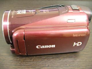 Canon iVIS HF M41 誤って全削除