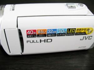 GZ-E265 JVC ビデオカメラ復旧