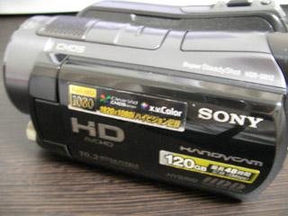 HDR-SR12 ソニー ハンディカム 復元
