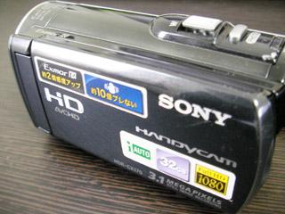 SONY HDR-CX170 データ復旧