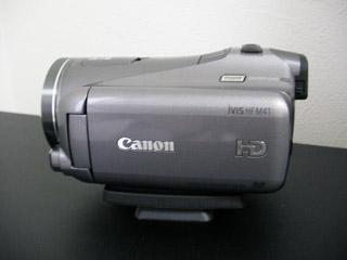 Canon iVIS HF M41 データ復旧に成功しました