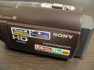 HDR-CX370V ビデオカメラのデータ復元