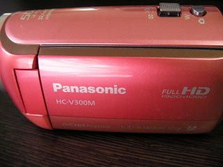 HC-V300M Panasonic ビデオカメラのデータ復元